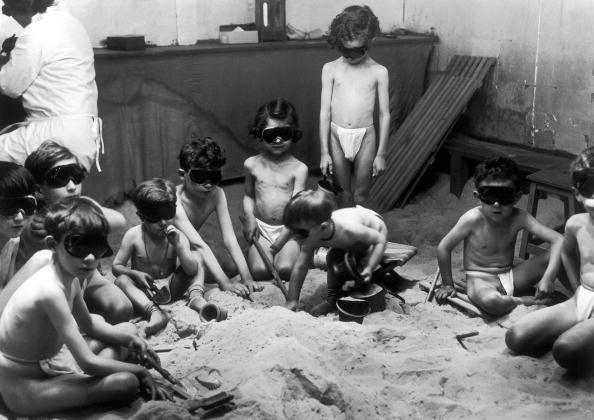 Actinology Of Children In Paris In 1929