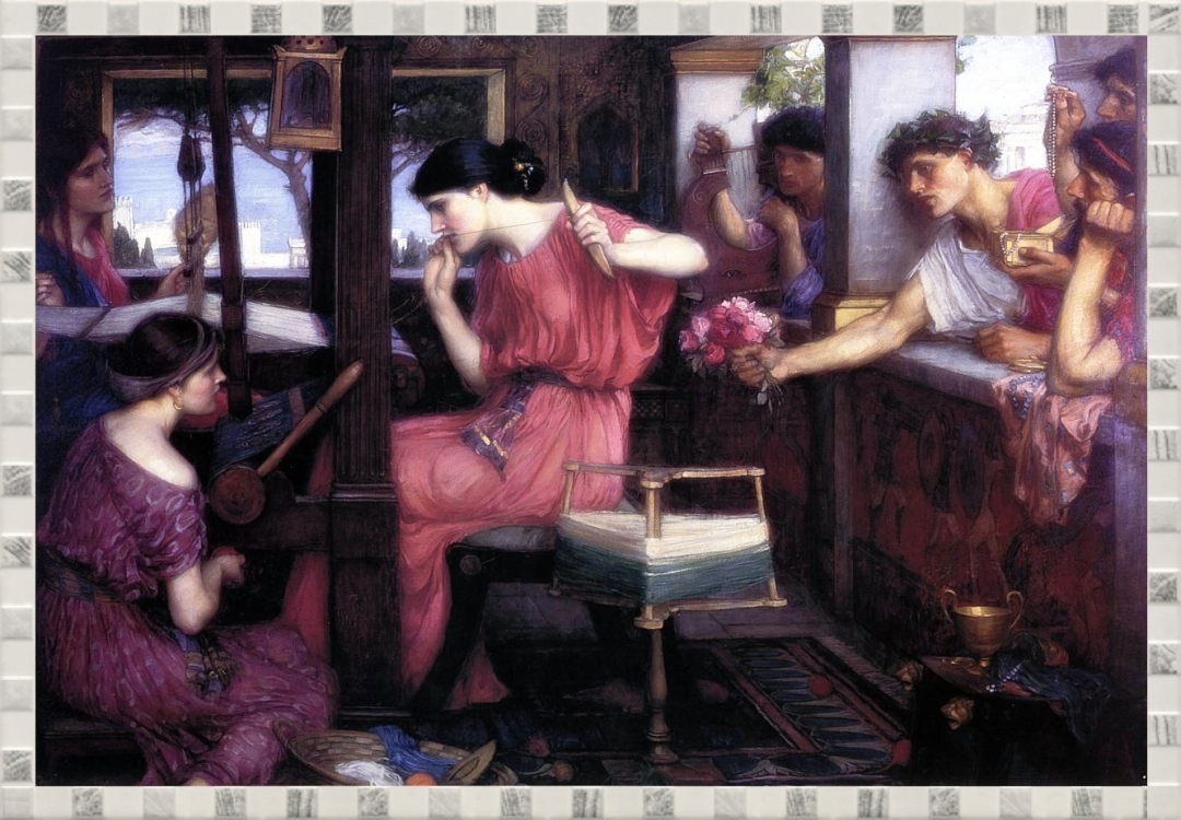 waterhouse - penelope-and-the-suitors-1912.jpg